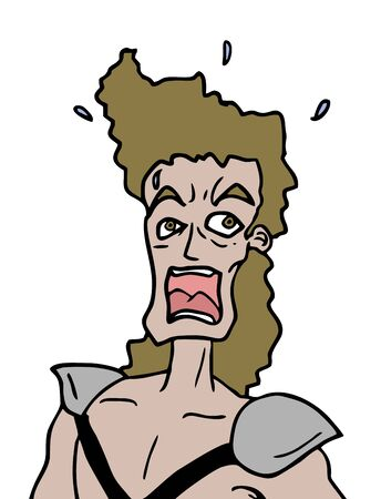 suprise: surprised character Illustration