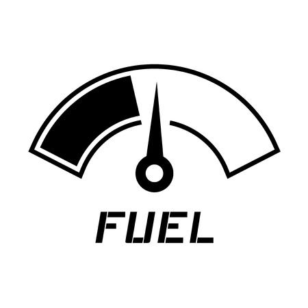 benchmark: fuel meter needle