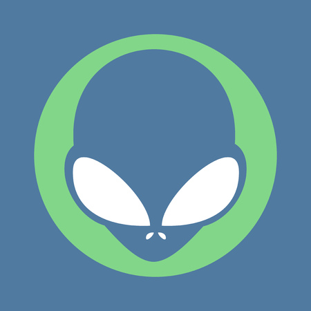 space invader: alien icon