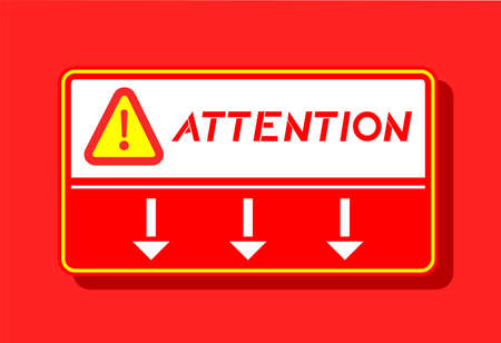 attention: attention symbol