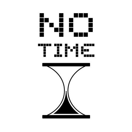 no time: no time message