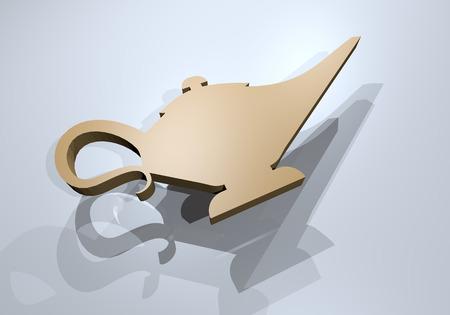 miracles: render magic lamp