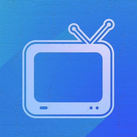 television icon: television icon