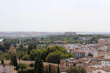 aereal: Cordoba city detail
