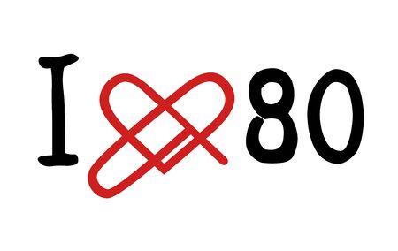 decade: Love 80 icon