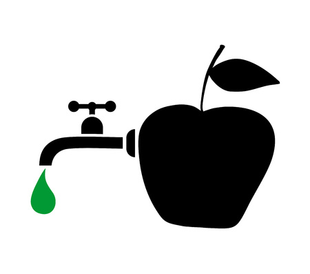 range fruit: nature juice symbol