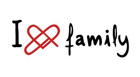 mather: family love icon Illustration
