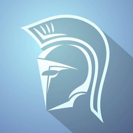 sparta: spartan icon Illustration