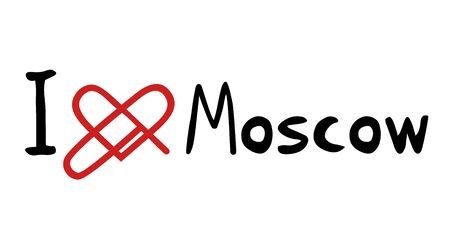 moscow: Moscow love icon