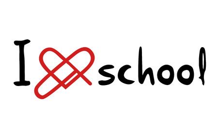 educative: love school message