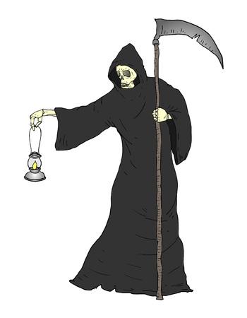 personaje muerto de Halloween