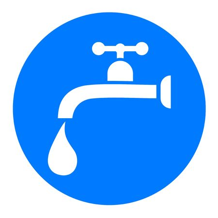 trickle: water tap sign