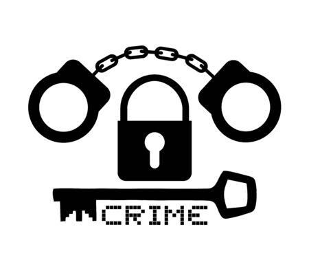 handcuff: Handcuff symbol