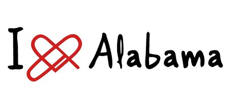 patriots: Alabama love icon