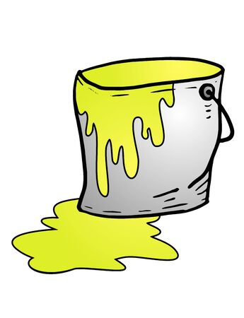 yellow paint: yellow paint