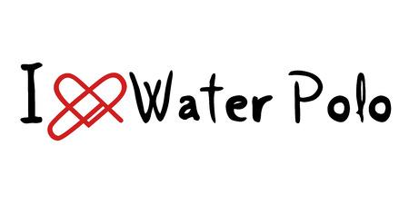 waterpolo: mensaje de amor del water polo