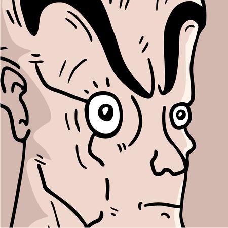 man expression Illustration