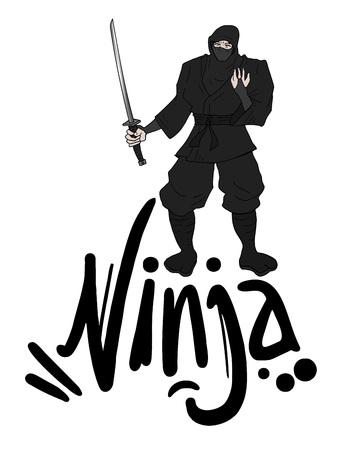 assassin: black ninja draw