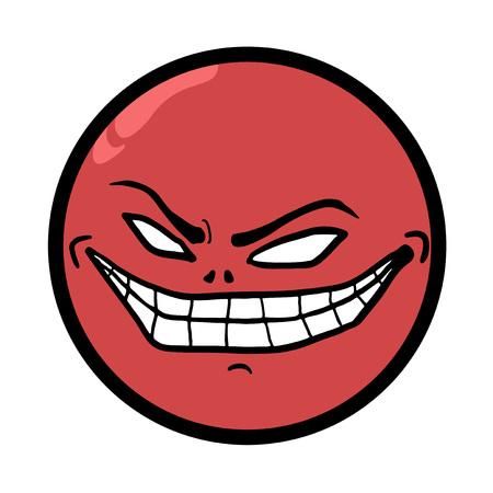 crazy face: smile crazy face