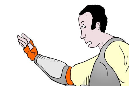 cartoon: Cartoon man