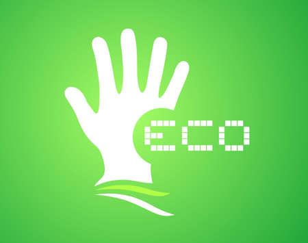 modern innovative: eco icon