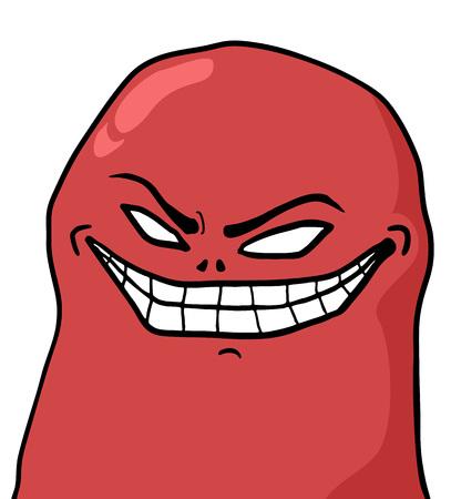 smile face: smile joke face Illustration