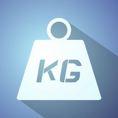 kilo: weight symbol