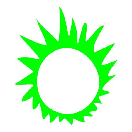 original circular abstract: creative circle symbol