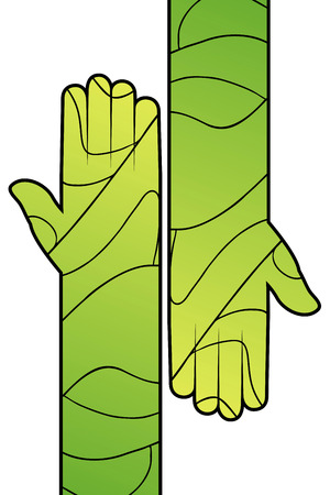 creative: creative hand illustration