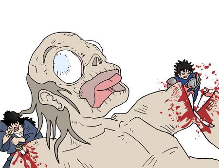 killing: killing monster Illustration