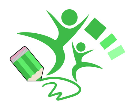 educative: education symbol Illustration