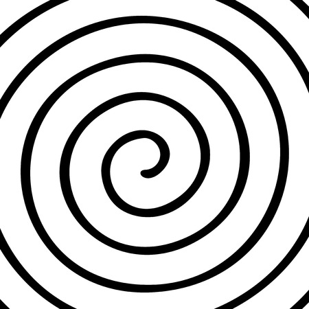 sensory perception: spiral background
