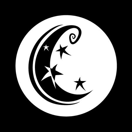 moon: imaginative moon Illustration