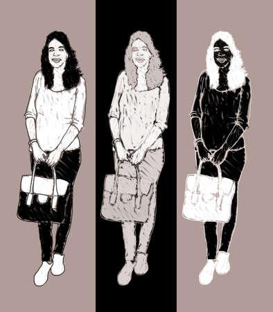 illustraiton: fashion women