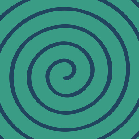 extra sensory perception: spiral background