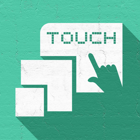 touch: touch sign