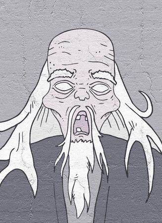 puppet master: Old man halloween