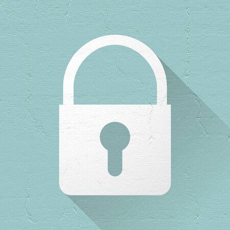 lock symbol: lock symbol Stock Photo