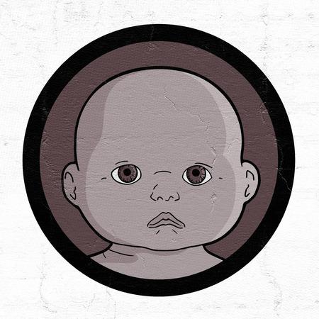 positivismo: Bebé africano