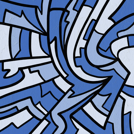 blue art background