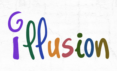 illustion: color illustion sign
