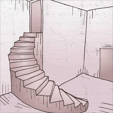 imaginative: imaginative stair