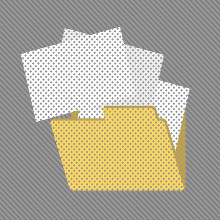 dossier: creative folder icon