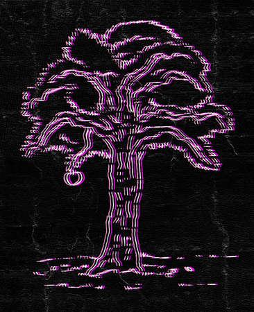 original single: Art tree Stock Photo