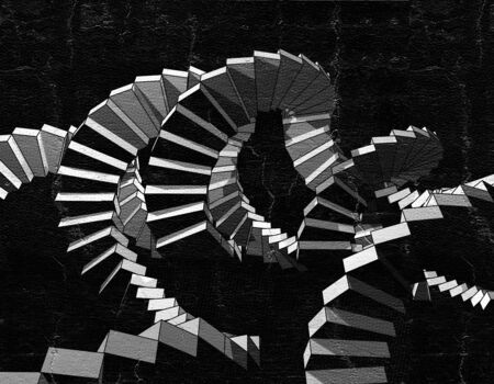 buld: artistic stairs