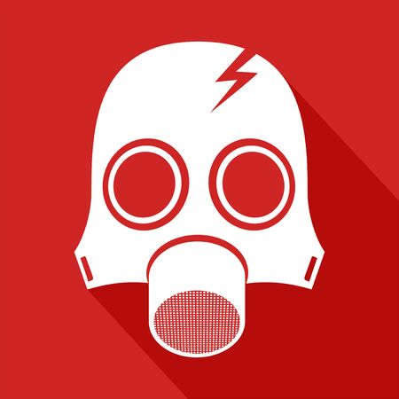 nuclear fear: radiation mask symbol