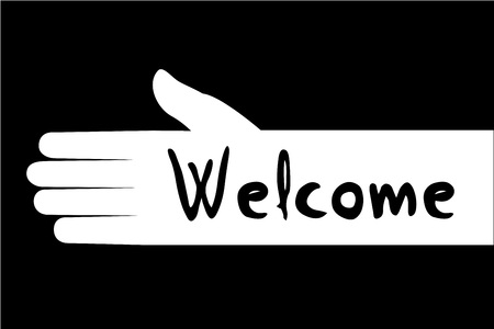 welcome symbol: Welcome symbol