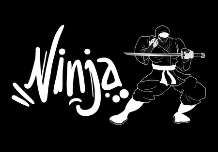 illustration: ninja illustration Illustration