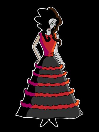 illustration: woman illustration