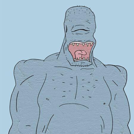 villain: imaginative monster